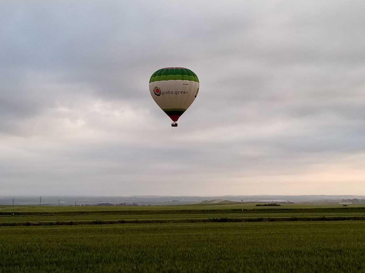globo aerostático sevilla